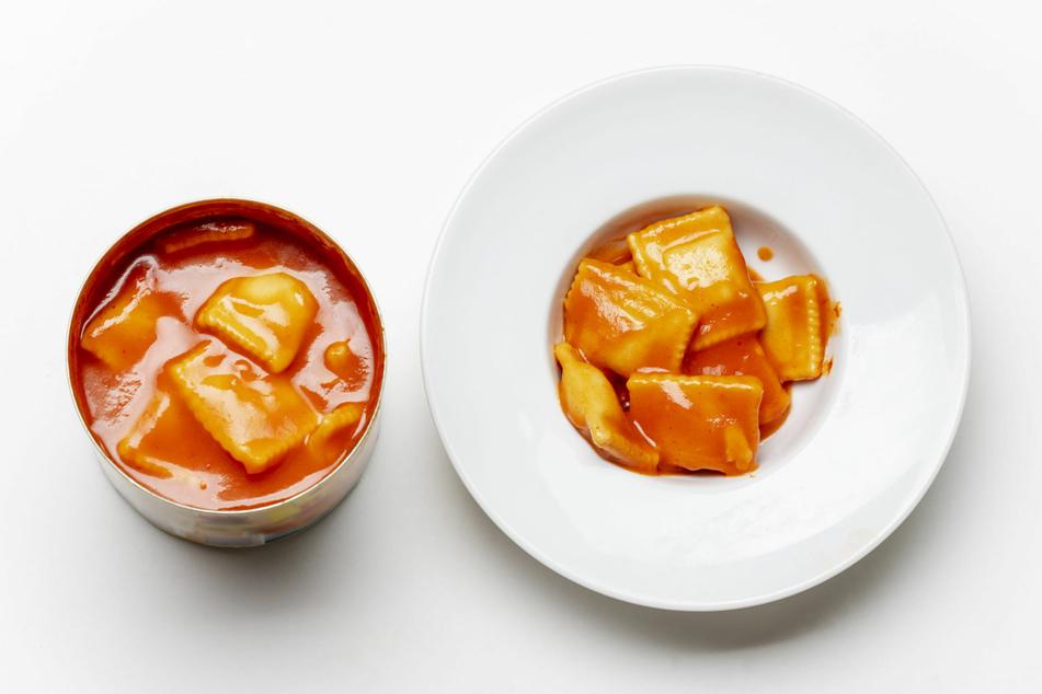 Dosenravioli kommen zwar nicht an das Original ran, sind aber trotzdem beliebt.