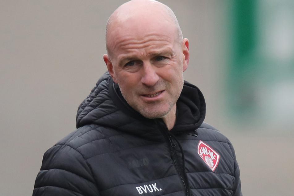 Nach 41 Tagen bei den Würzburger Kickers war für Marco Antwerpen (49) schon wieder Schluss.