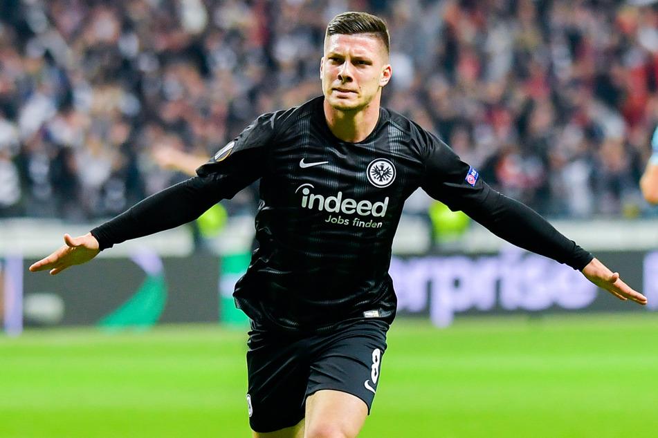 Spielte bis zum Sommer 2019 für die Eintracht: Serbiens Nationalspieler Luka Jovic.