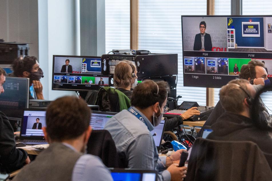 Mehr als 300 Delegierte nahmen an dem virtuellen Treffen der gemeinsamen Jugendorganisation von CDU und CSU teil.