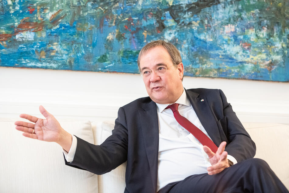 NRW-Ministerpräsident Armin Laschet (59, CDU) bewirbt sich um die Position des Kanzlerkandidaten der Unions-Parteien