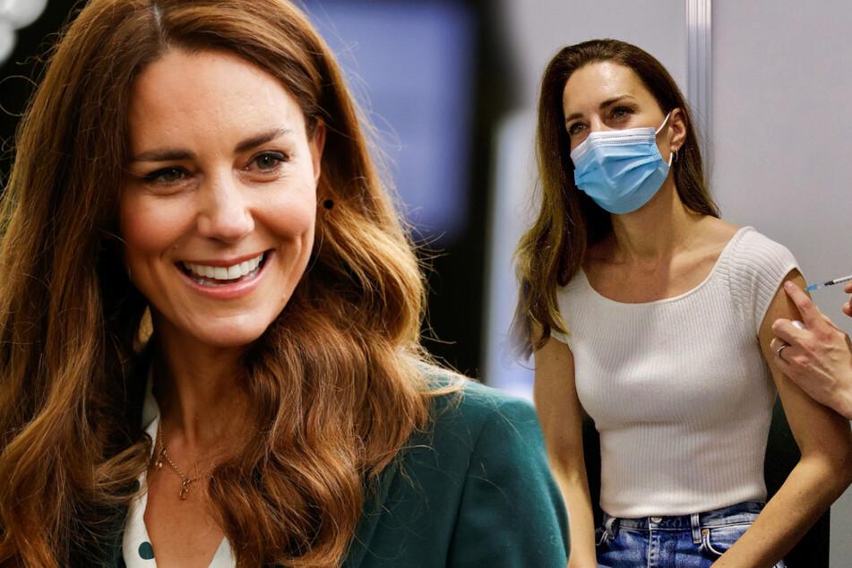 Impfung für die Herzogin: Kate bekommt ihre erste Spritze gegen Corona