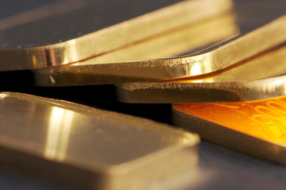 Der Goldpreis ist stark gefallen.