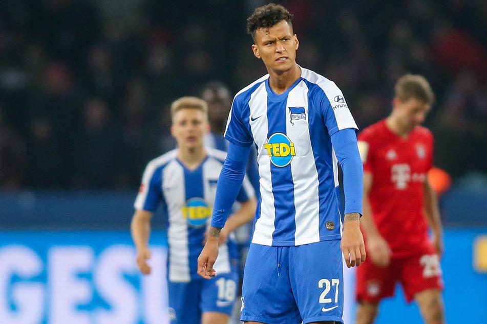 Davie Selke (26) kehrte nach dem Abstieg von Werder Bremen zu Hertha BSC zurück. Der Stürmer konnte in der Vorbereitung bislang überzeugen.