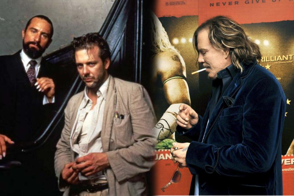 """""""Ich spreche mit Dir, Heulsuse"""": Mickey Rourke stichelt gegen Robert De Niro"""