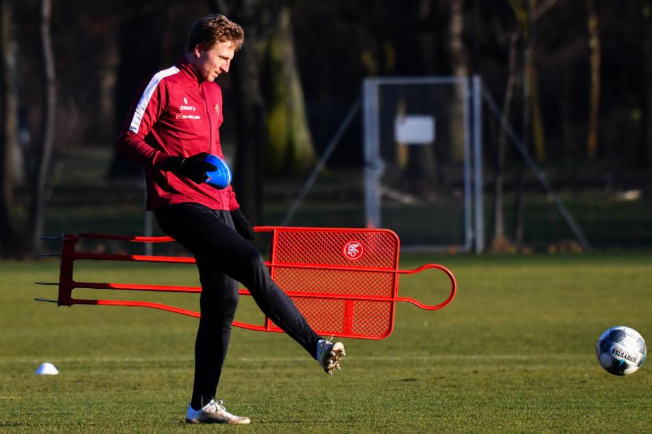 Marco Hartmann darf wie alle seine Dynamo- und Profikollegen derzeit nur allein trainieren.