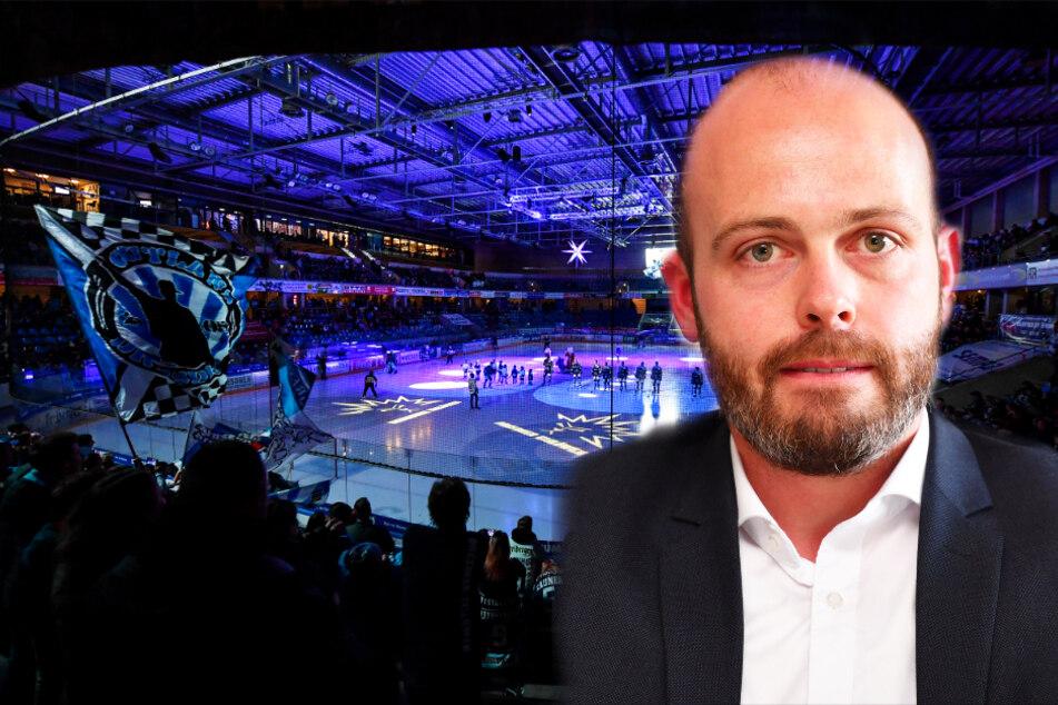 Eislöwen-Geschäftsführer Maik Walsdorf überlegt auch, den Etat für die Spieler zu kürzen.