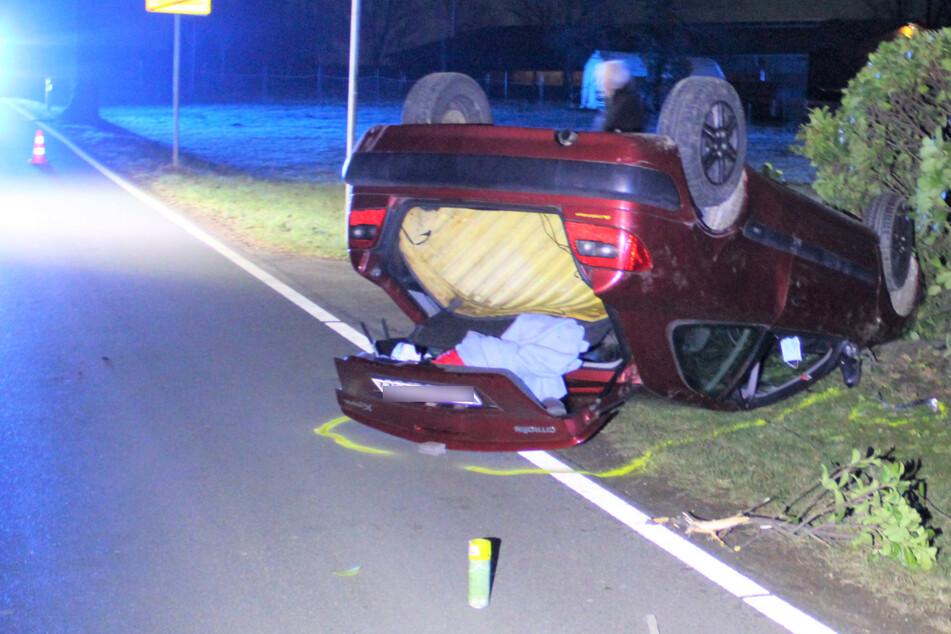 Heftiger Autounfall stellt Ermittler vor ein Rätsel