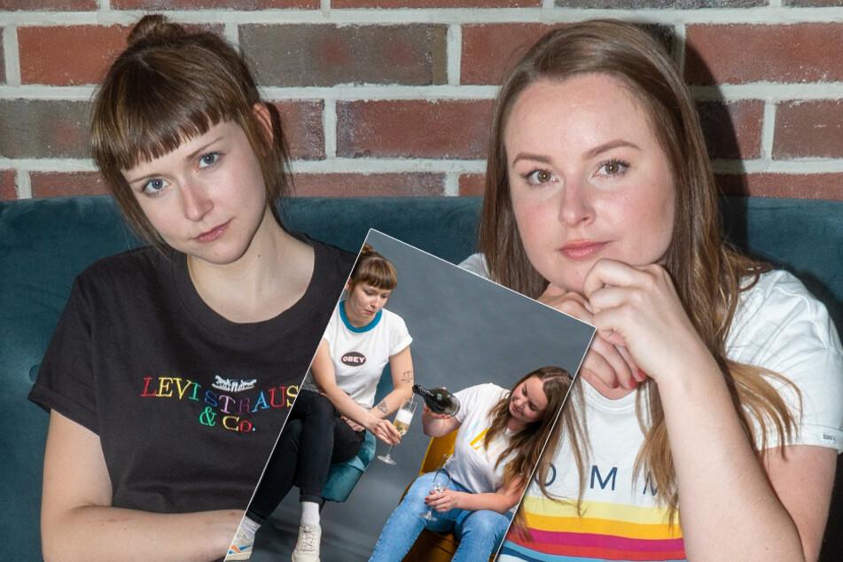Die Trashkurs-Girls Tessa und Lena haben ihre Nase schon mal tiiief hineingesteckt.