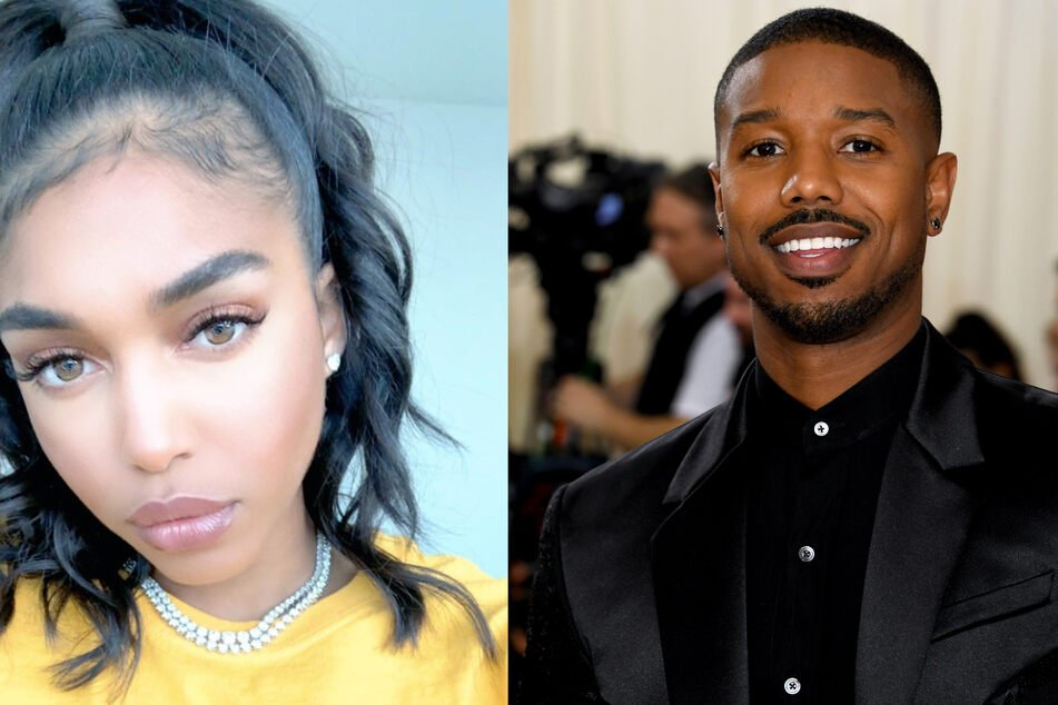 Lori Harvey and Michael B. Jordan shared pictures of them together on Instagram.