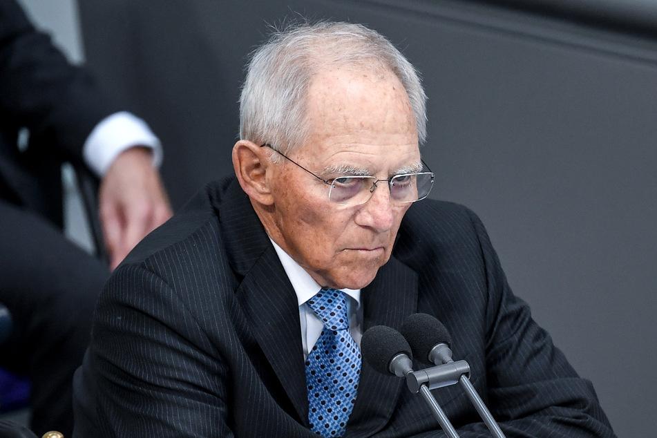 Bundestagspräsident Wolfgang Schäuble (77). (Archivbild)