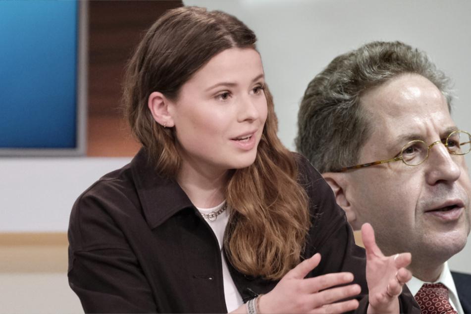 """Luisa Neubauer geht bei """"Anne Will"""" auf Maaßen los: """"Rassistische Inhalte"""""""