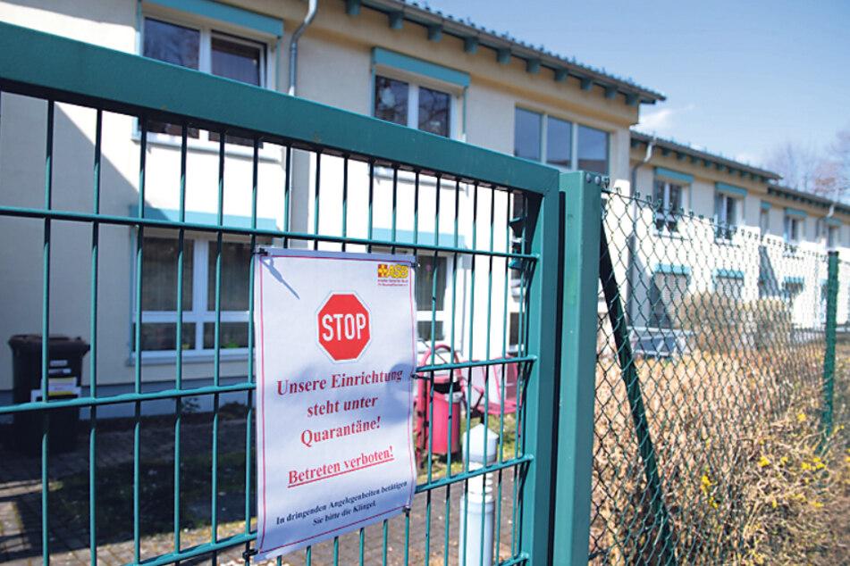 Viele Corona-Fälle gibt es unter anderem in diesem ASB-Heim in Hohnstein (Sächsische Schweiz).