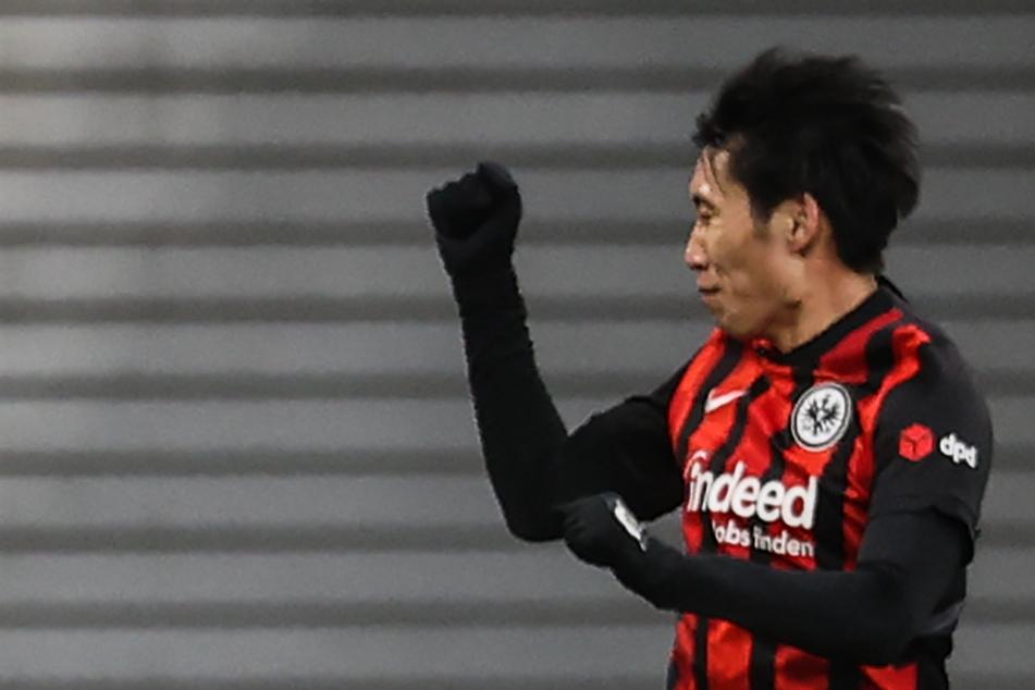 Fünf Tore erzielte Daichi Kamada (24) in der vergangenen Saison für Eintracht Frankfurt.