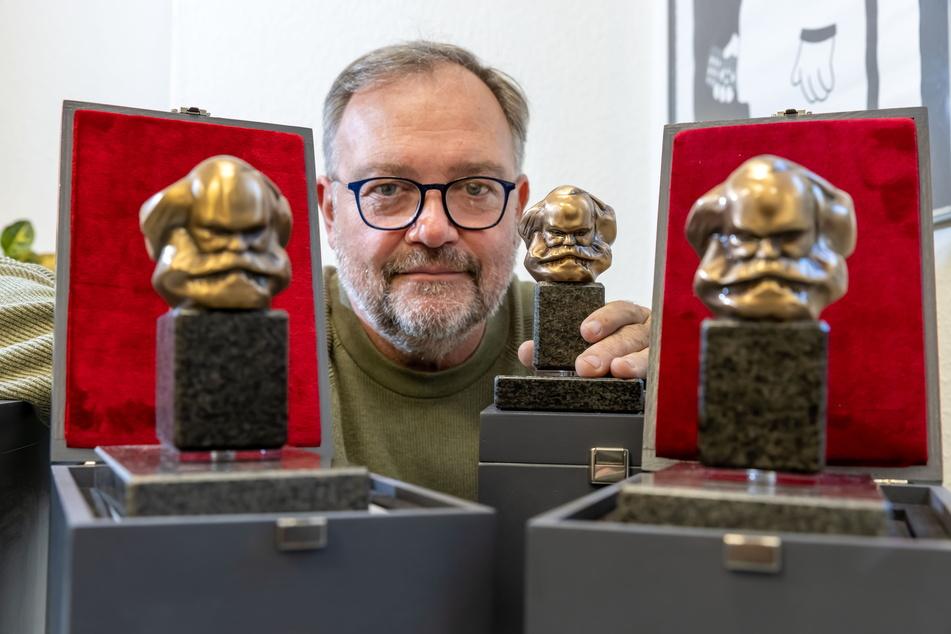 Chemnitz: Streng limitiert: Jetzt gibt's den Mini-Marx für Sammler