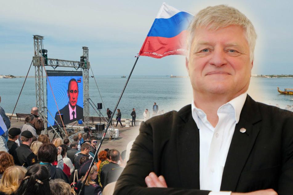 So reagiert Chemnitz auf Oehmes Krim-Reise auf Kreml-Kosten