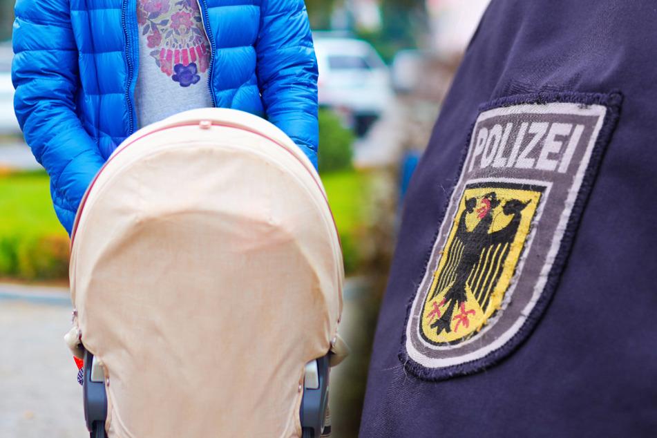 Ein Kind fand die Polizei nicht im Wagen, dafür Kleidungsstücke im Wert von 650 Euro. Bezahlt war die Ware nicht. (Symbolbild)