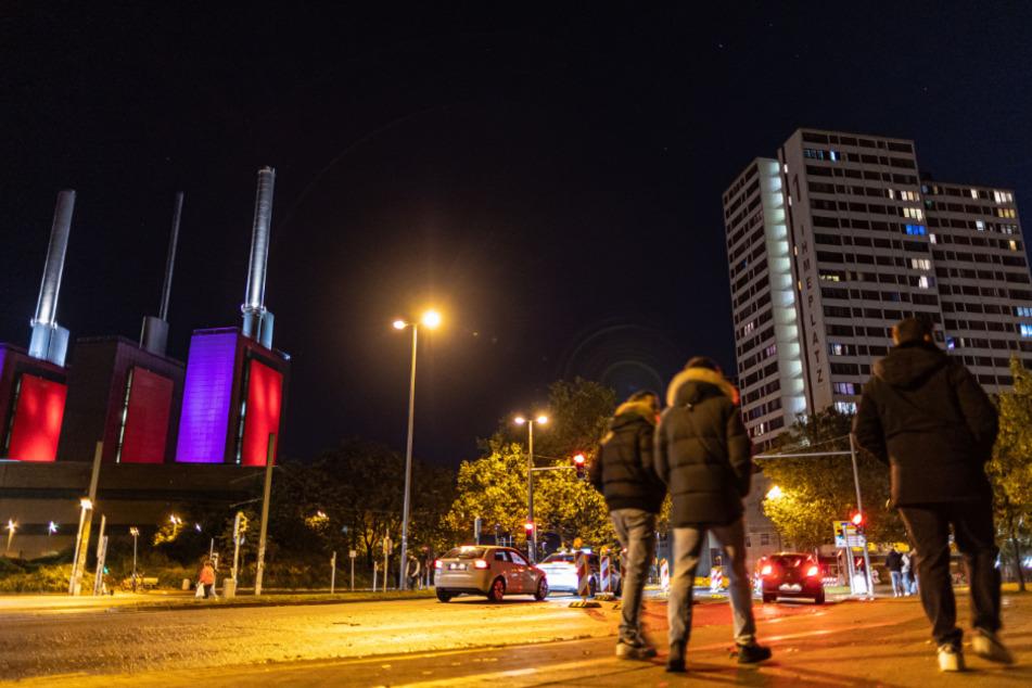 Die Verkehrskreuzung am Küchengartenplatz in Hannover. In den letzten Wochen kam es dort zu einer Reihe an Gewalttaten, die Polizei zeigt Präsenz.
