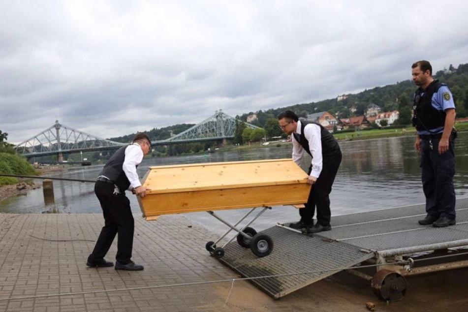 Schon wieder eine Leiche in der Elbe