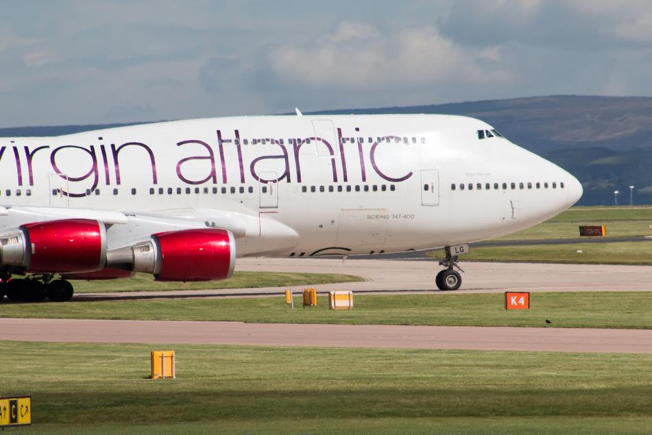 Eine Boeing 747 von Virgin Atlantic.