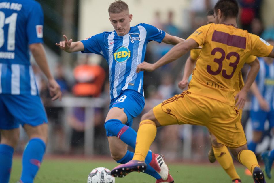 Sinan Kurt (24) hat den Durchbruch bei Hertha BSC nie geschafft.