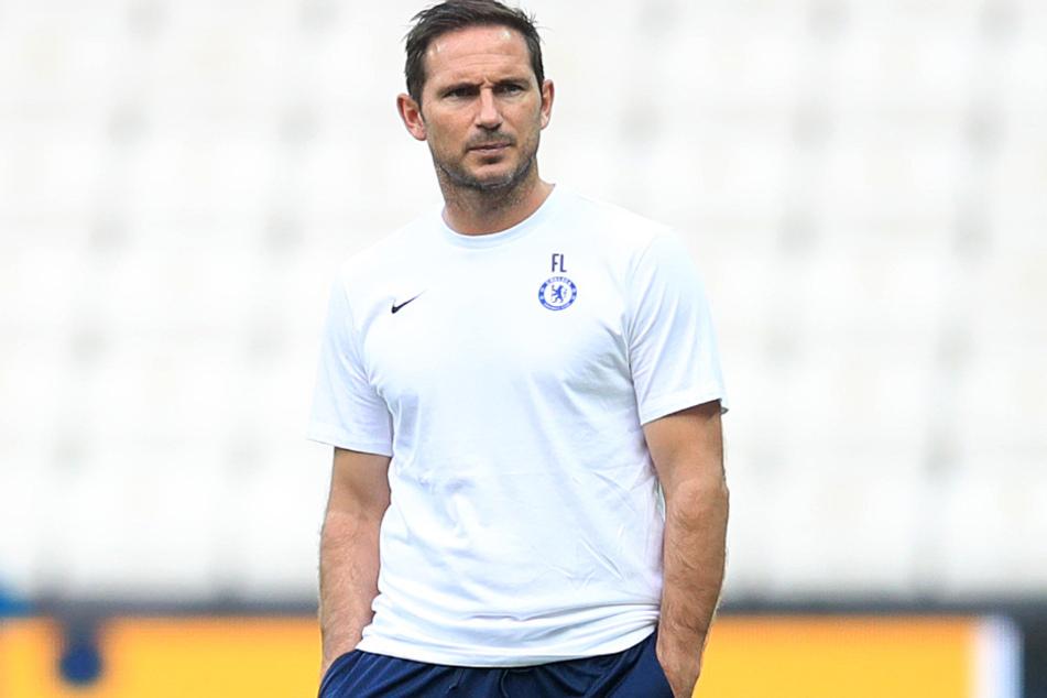 Chelsea-Coach Frank Lampard (41).