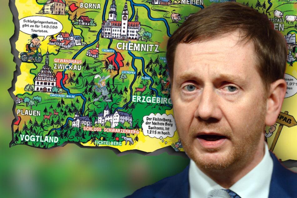 Teile des Vogtlands im Mosaik-Sonderheft vergessen! Staatskanzlei in Erklärungszwang