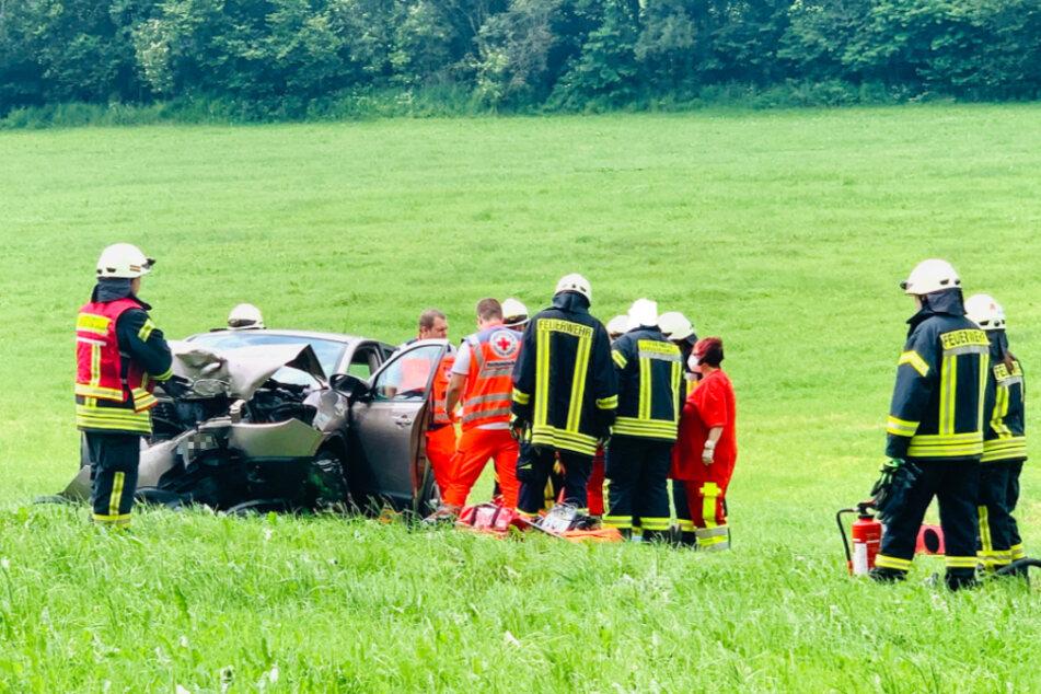 Der Fahrer des Nissan SUV bekam womöglich gesundheitliche Probleme während der Fahrt.
