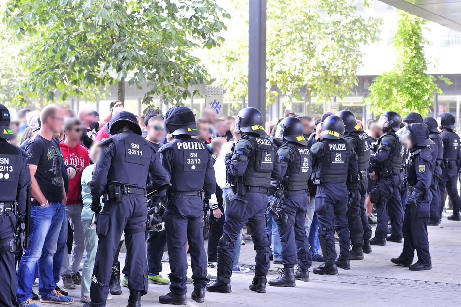 Der Kampf gegen Extremisten aller Art ist der Chemnitzer Polizei sehr wichtig.