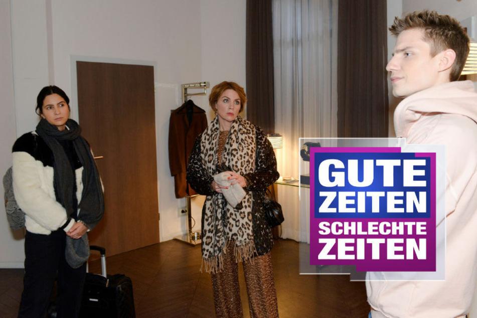 GZSZ: GZSZ live: Chryssanthi Kavazi und Lennart Borchert überraschen mit neuem Look