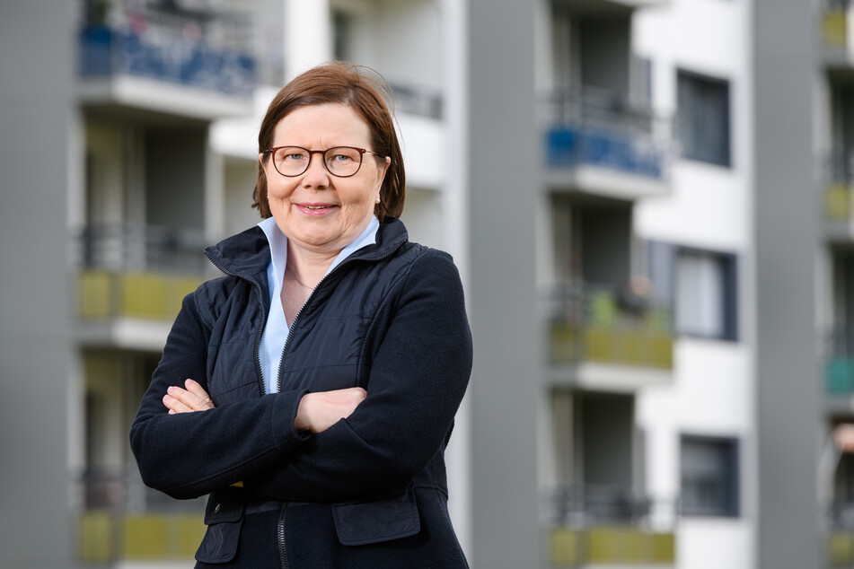 Martina Pansa (62) ist als Regionalbereichsleiterin für die Vonovia-Immobilien in Dresden verantwortlich.