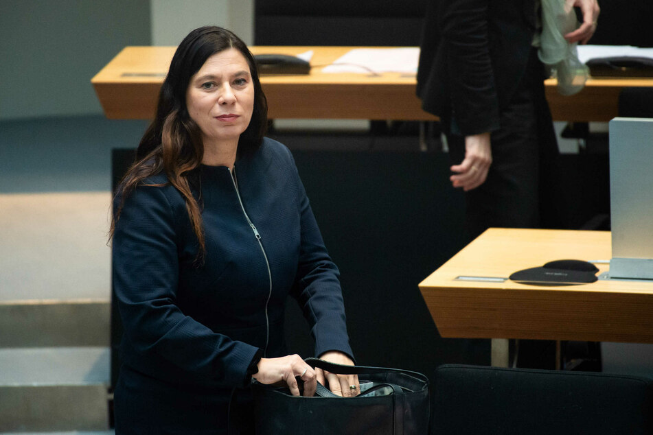 Berlins Bildungssenatorin Sandra Scheeres (50, SPD)