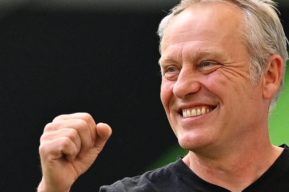 Christian Streich (55) hat seinen Vertrag beim SC Freiburg verlängert.