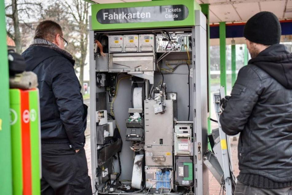 In Sachsen werden immer häufiger Automaten gesprengt
