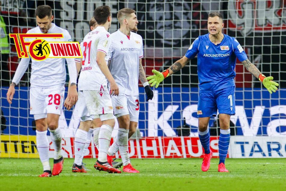 Union scheitert im DFB-Pokal,30 Minuten Stille nach Notfall