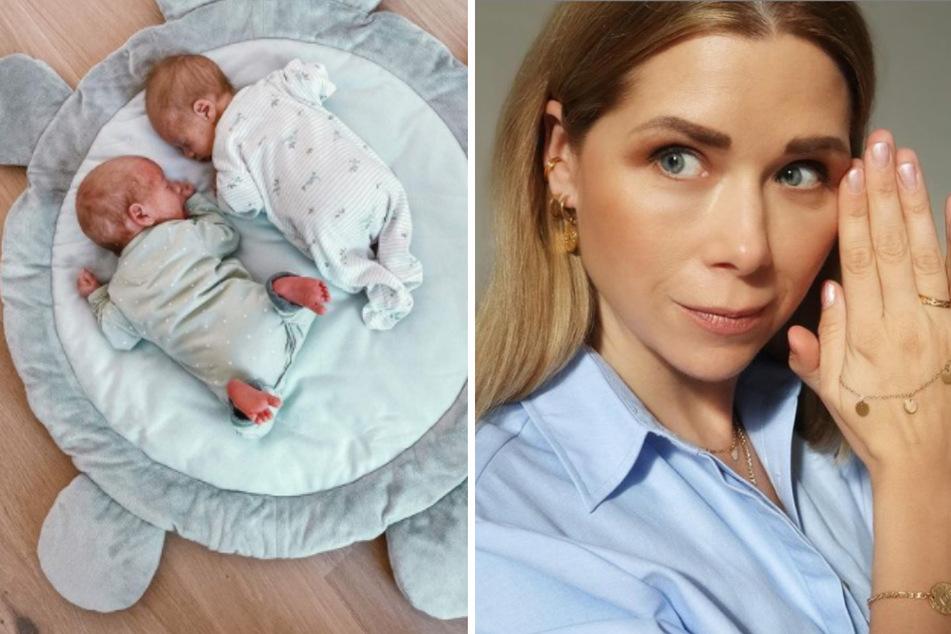 Tanja Szewczenko teilt rührende Liebeserklärung an ihre Zwillinge - so groß sind Leo und Luis bereits!