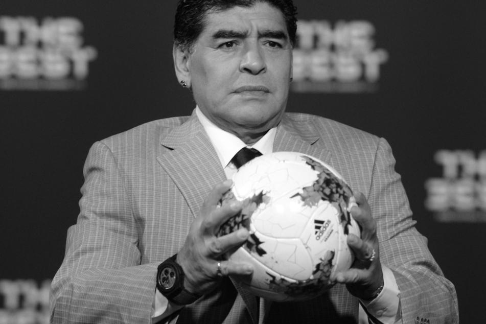 Diego Armando Maradona (†60) starb am 25. November 2020 mit nur 60 Jahren.
