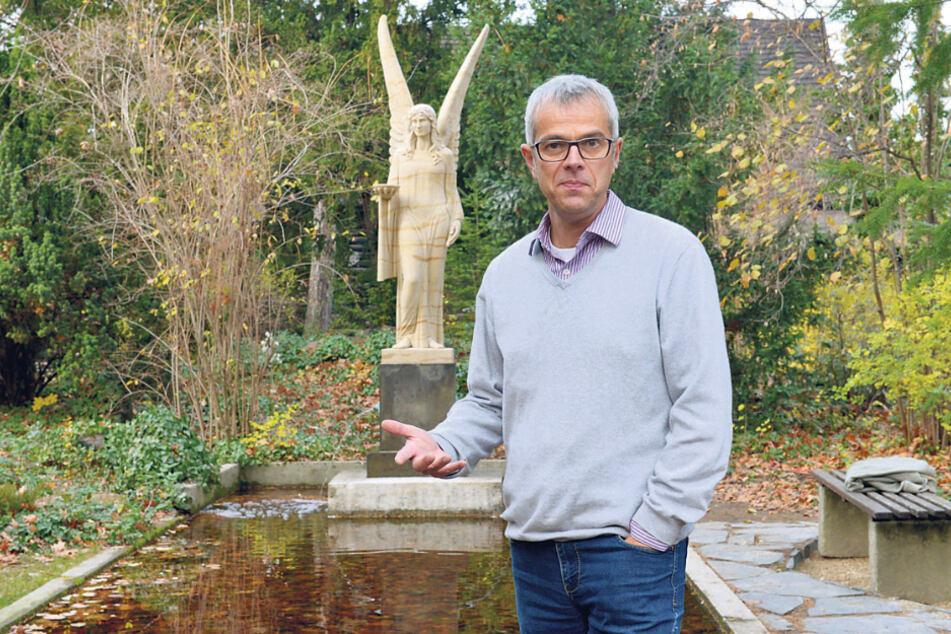 Schmeißt zum Monatsende hin und spricht von Mobbing: Karl-May-Museumsdirektor Christian Wacker (54).