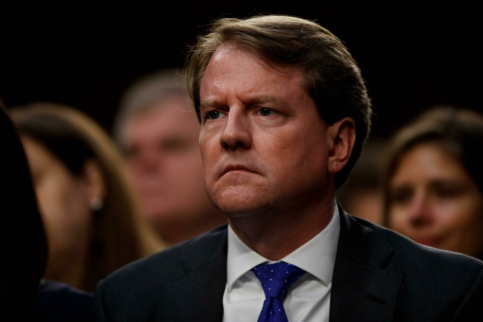 Donald McGahn testified before the House Judiciary Committee in a closed-door hearing on Friday.
