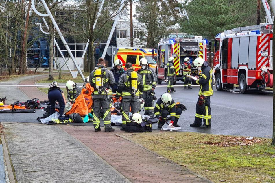 Unfall mit Salpetersäure sorgt für Großeinsatz in Velten