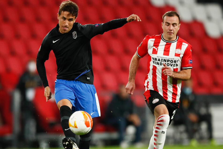 Mario Götze trifft erneut für PSV, trotzdem reicht es nicht für einen Europa-League-Sieg
