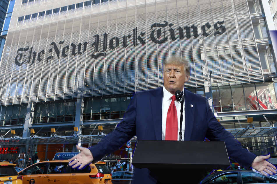 Trump loses New York Supreme Court battle against New York Times