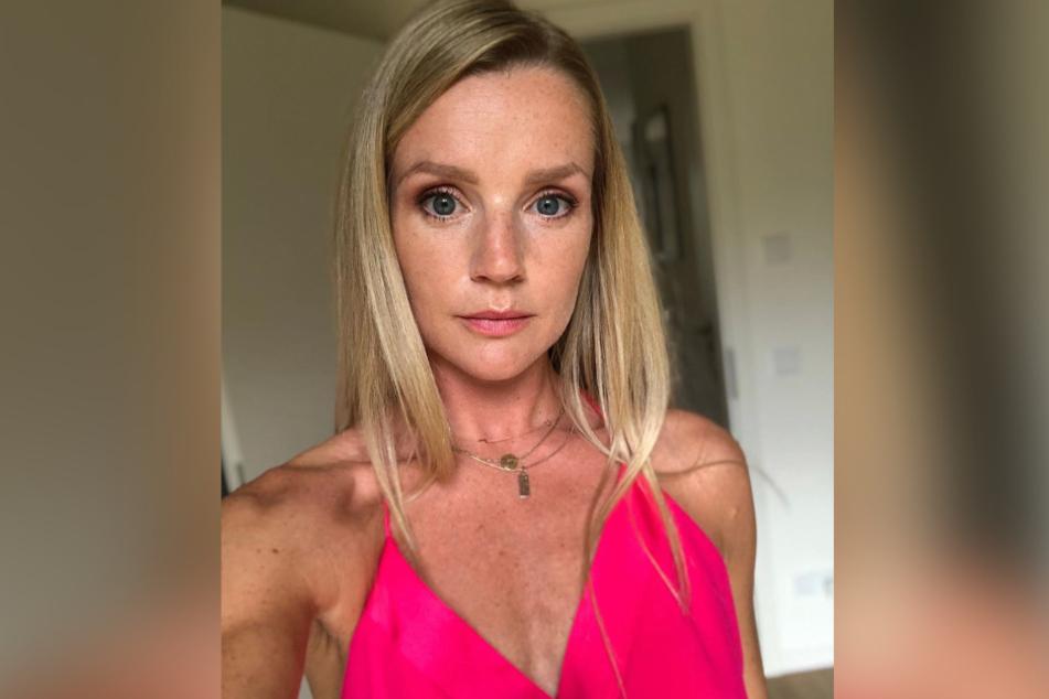 Kim-Sarah Brandts (37) ist Mutter von Zwillingen.