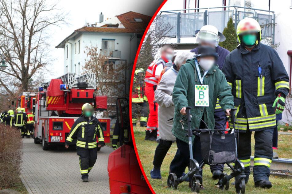 Feuer-Alarm in Betreutem Wohnen: Bewohner evakuiert!