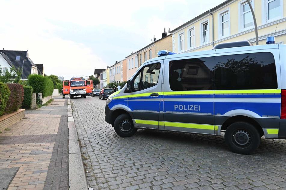 Polizei und Feuerwehr waren mit Einsatzkräften vor Ort.