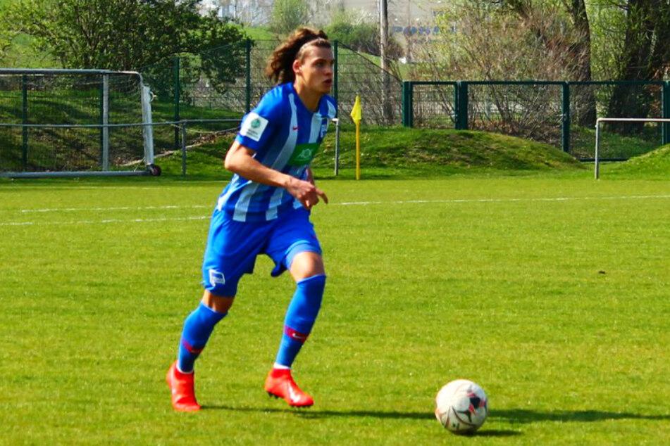 Omar Rekik (18) ist ein hochveranlagter Innenverteidiger, der bei Hertha BSC allerdings noch immer auf seinen ersten Profieinsatz wartet.