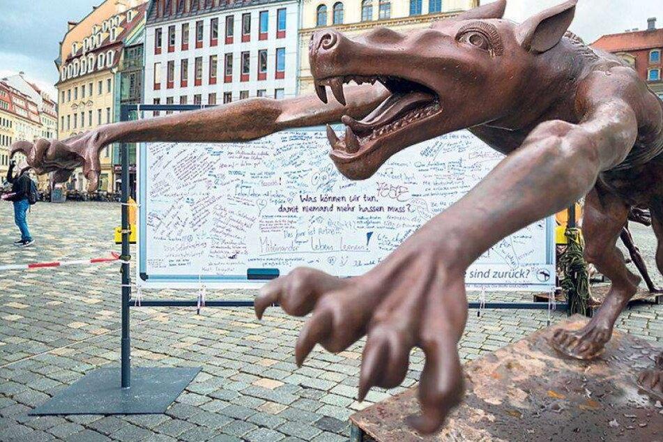 Künstler Opolka bepöbelt und beleidigt, aber...