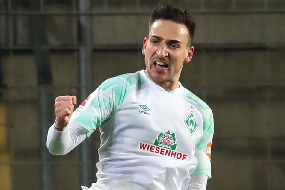 Werders Kevin Möhwald (28) steht bei Union Berlin als Ergänzung im Mittelfeld hoch im Kurs.