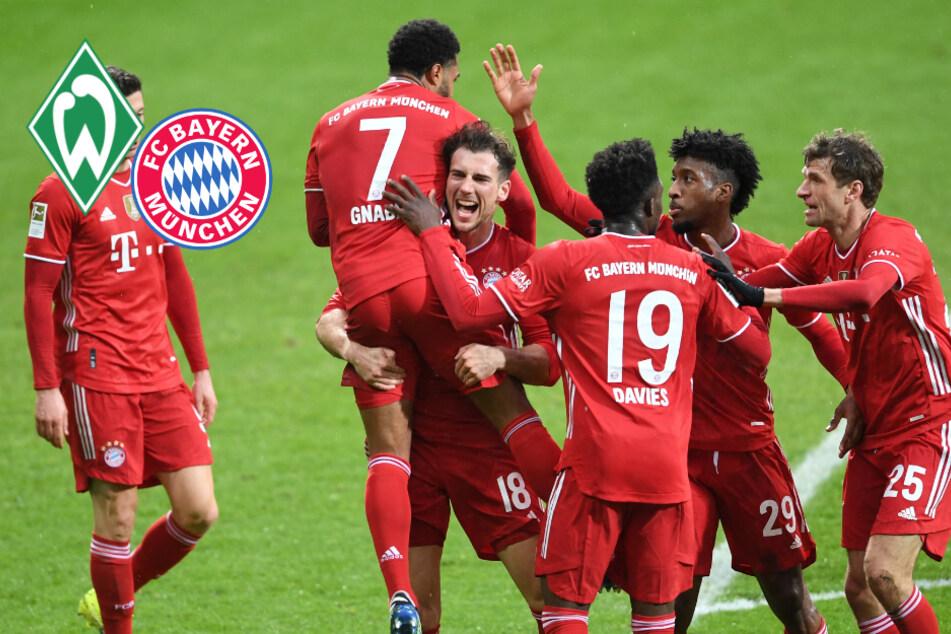 Klarer Sieg! FC Bayern lässt im Nord-Süd-Duell gegen Bremen nichts anbrennen