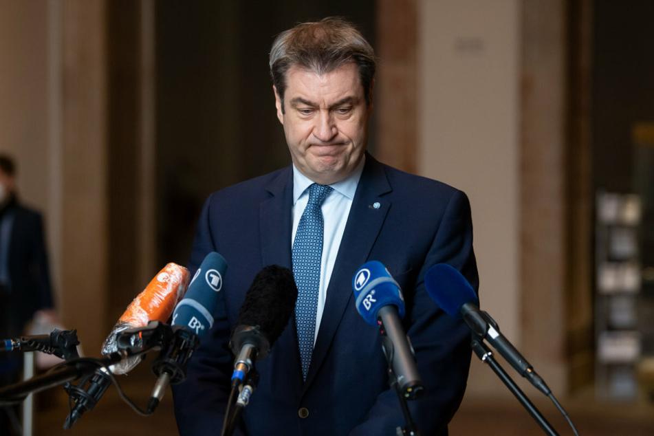 Bayerns Ministerpräsident Markus Söder (54) erteilt Öffnungen eine Absage.